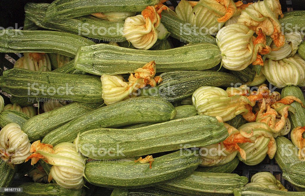 Courgettes royalty-free 스톡 사진