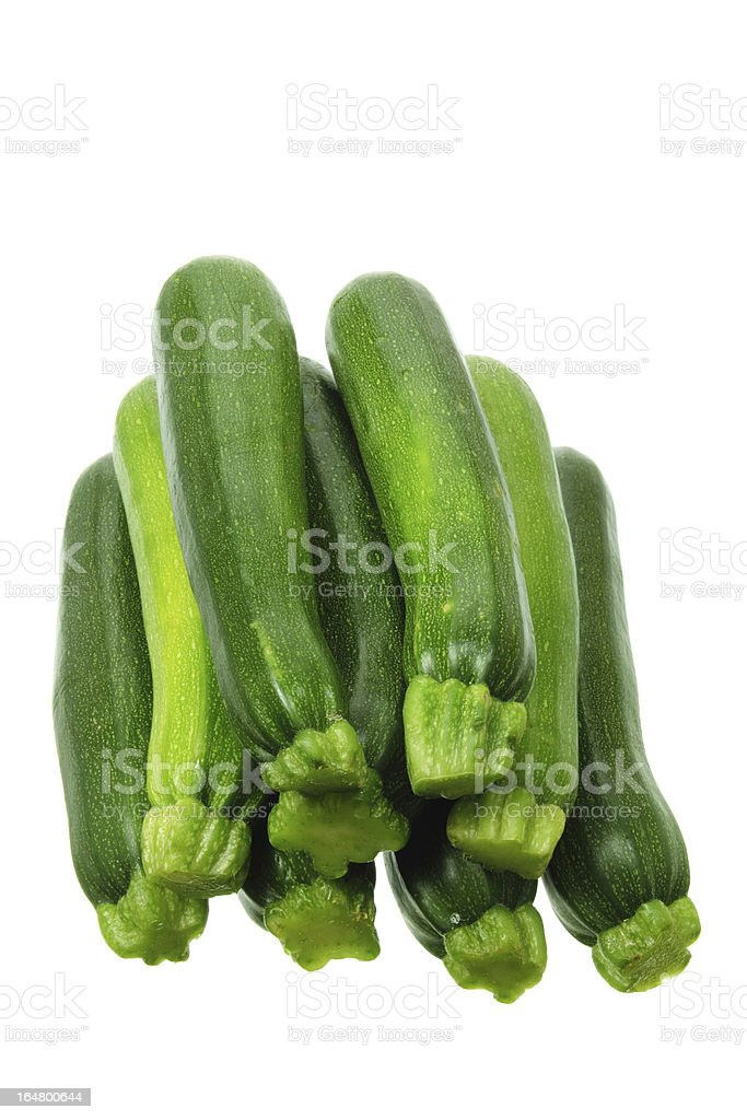 Zucchinis royalty-free stock photo