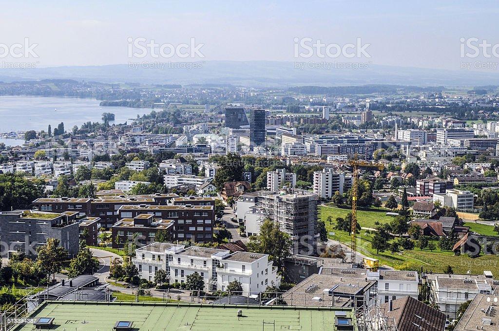Zug City stock photo