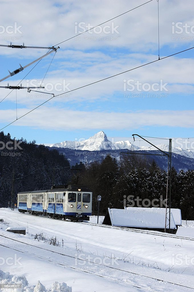 Zugspitzbahn stock photo