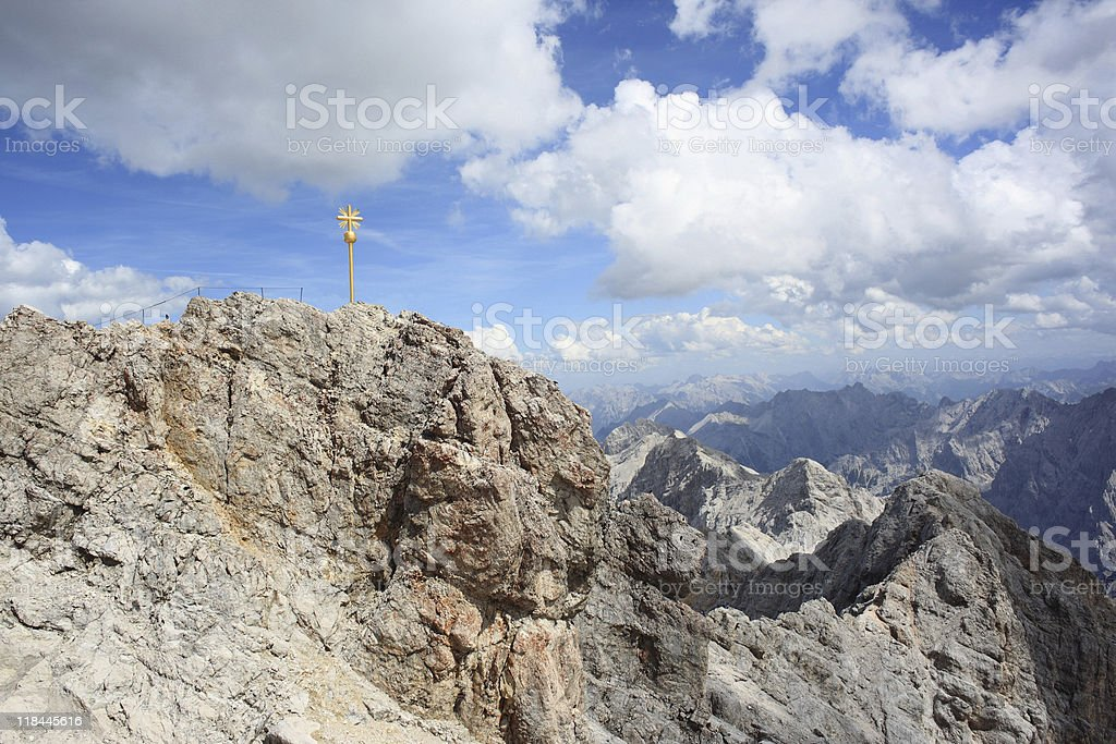 Zugspitze, Germany royalty-free stock photo