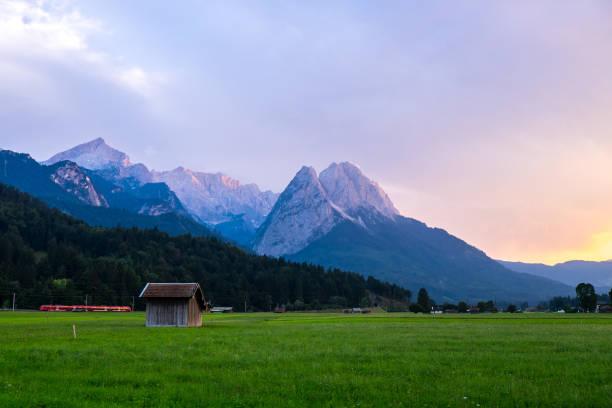 Zugspitze in Süddeutschland – Foto