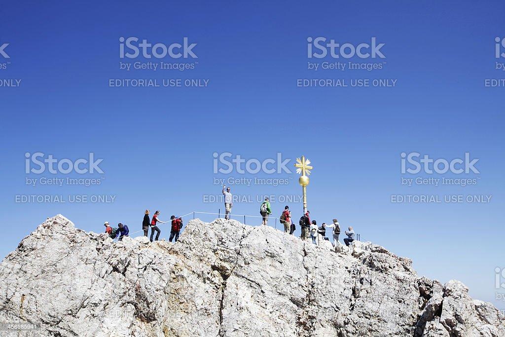 Zugspitze Mountain royalty-free stock photo