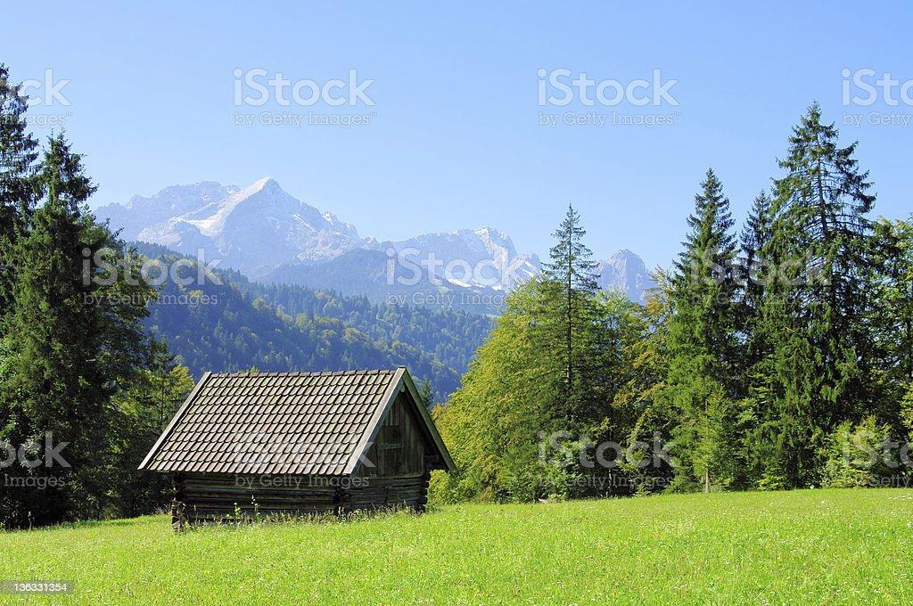 Zugspitze royalty-free stock photo