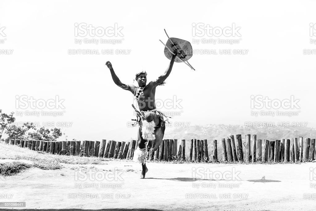 Zulu-Tänzer – Foto