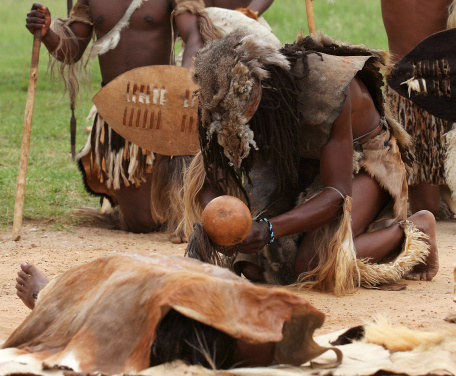 Zulu Death Ritual Stock Photo - Download Image Now