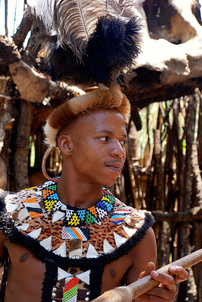 Handsome Zulu Man Stock Photos, Pictures & Royalty-Free