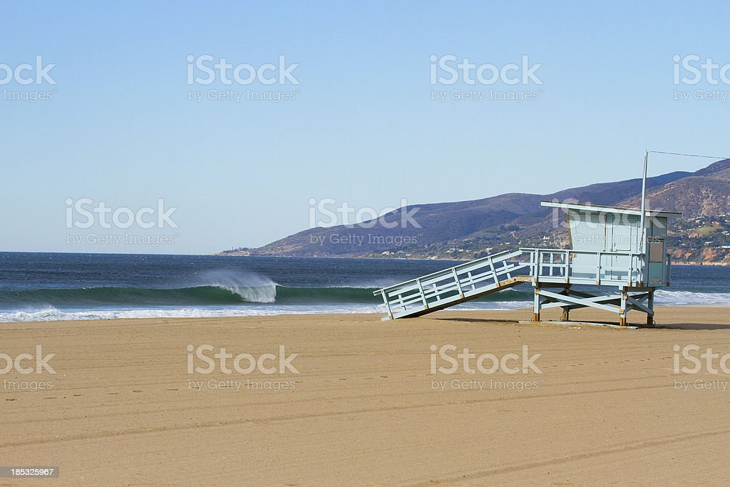 Zuma Beach California stock photo