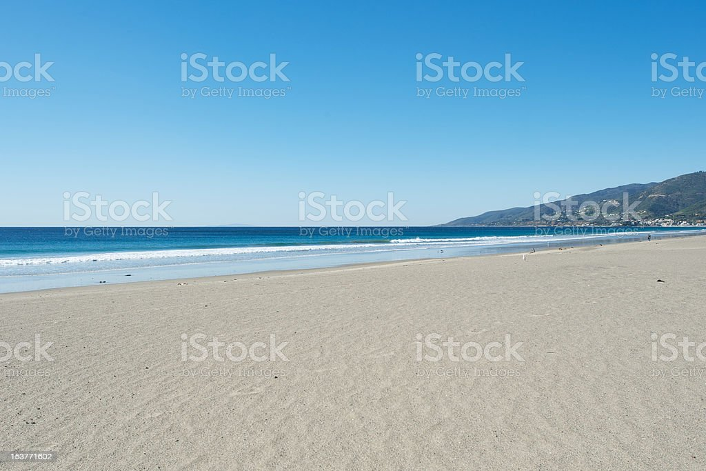 Zuma Beach Malibu stock photo