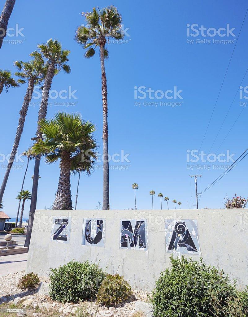 Zuma stock photo