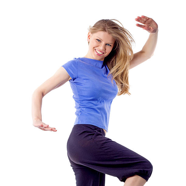 Zumba dance Frau – Foto
