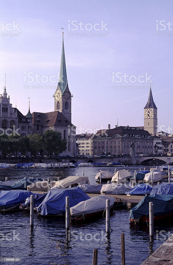 Zurich City Centre royalty-free stock photo