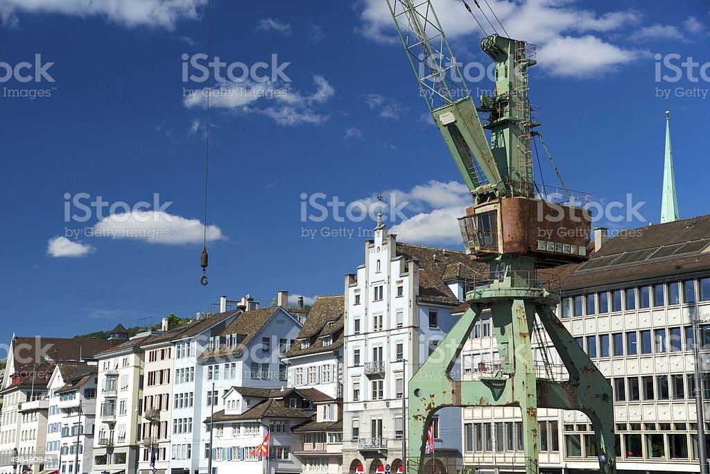 Zurich City stock photo