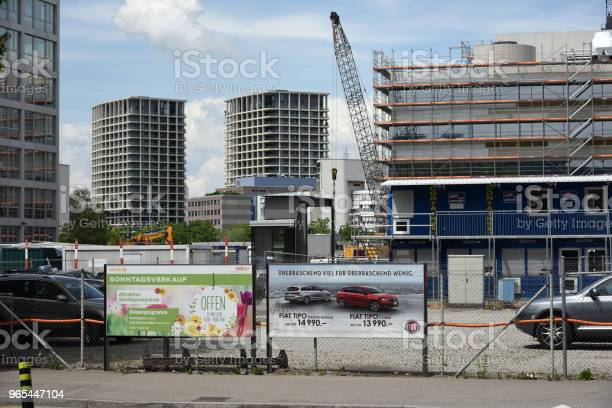 Plac Budowy W Zurychu - zdjęcia stockowe i więcej obrazów Architektura