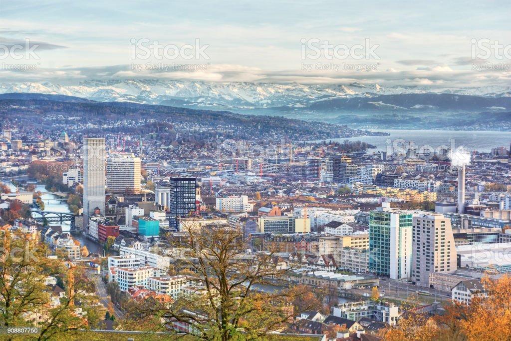 Zurich HDR stock photo