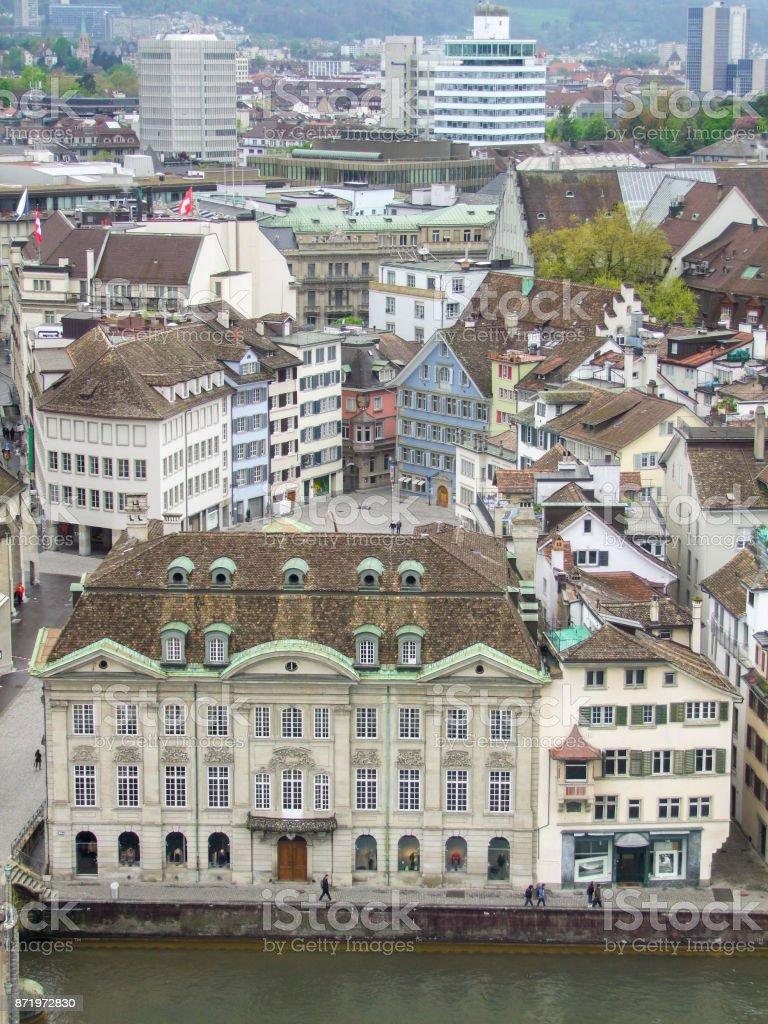Zurich in Switzerland stock photo