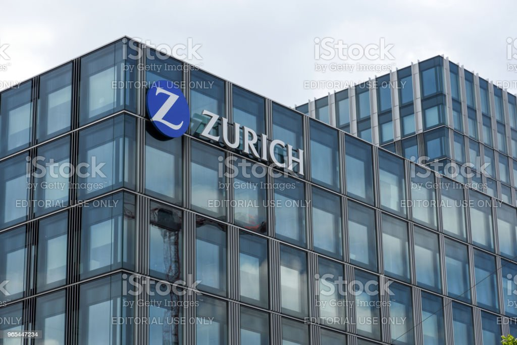 Zurich Insurance Group royalty-free stock photo