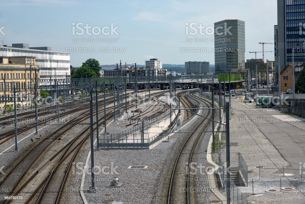 Zurich Oerlikon royalty-free stock photo
