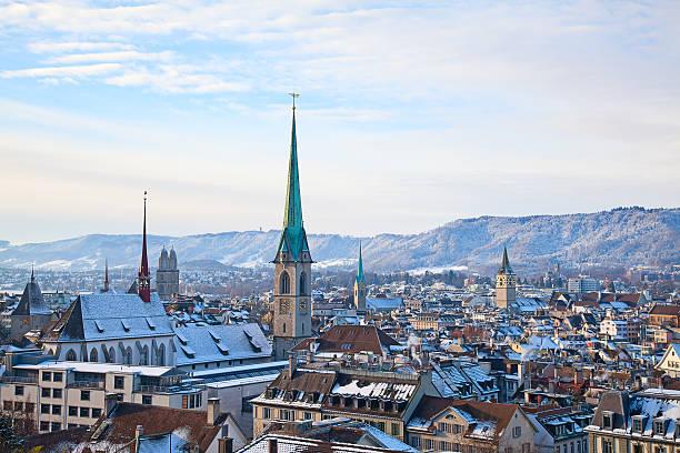 Zurich stock photo