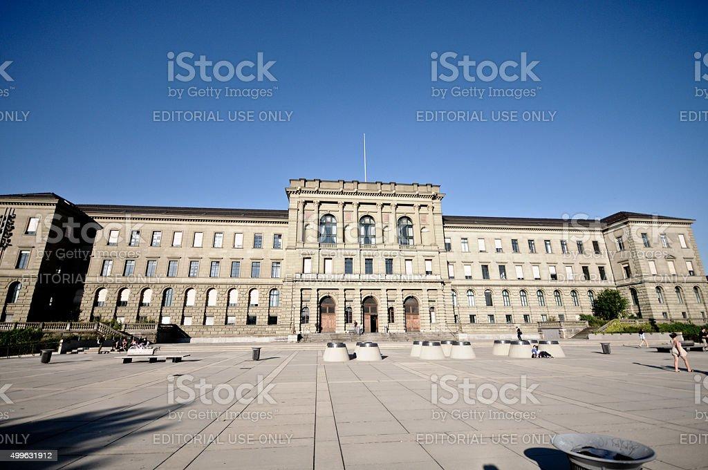 ETH Zurich stock photo