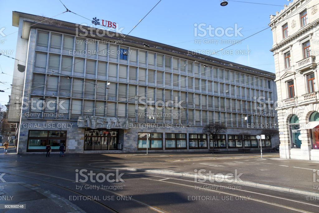 Ubs Zurich Stock Photo - Download Image Now - iStock