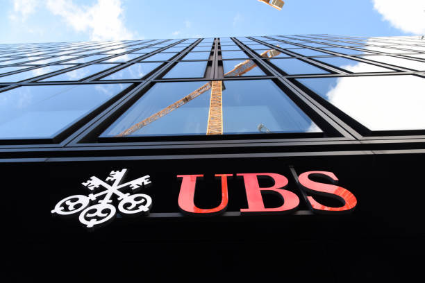 UBS - Zurich stock photo