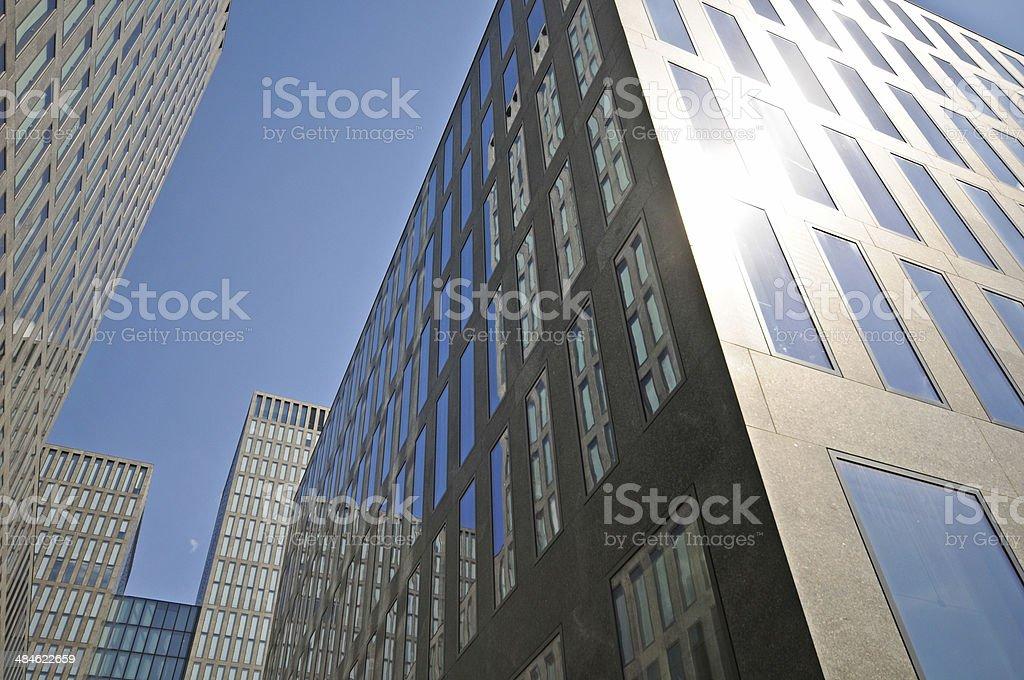 Zurich - Skyscraper stock photo