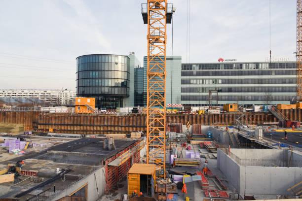 Baustelle Zürich Stettbach – Foto