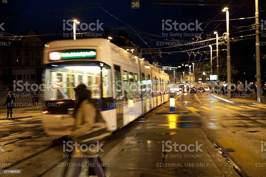 Zurich Streets royalty-free stock photo