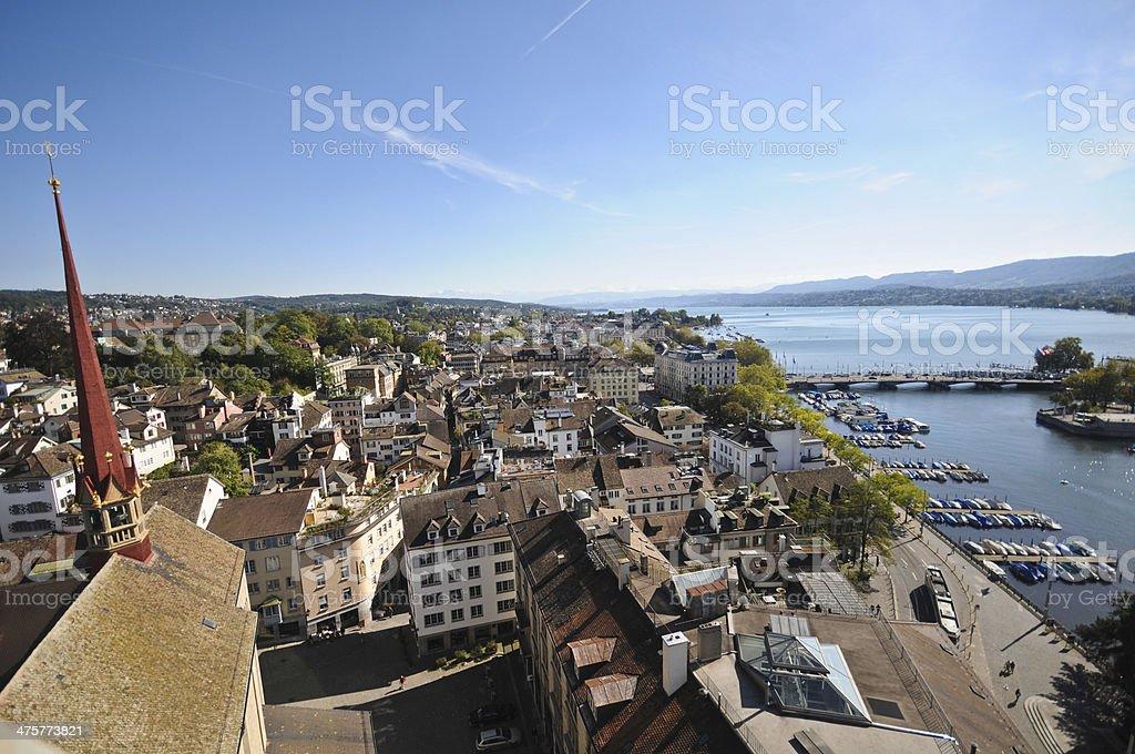 Zurich - Switzerland royalty-free stock photo