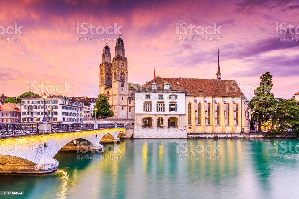 Zurich, Switzerland. stock photo