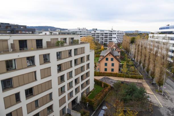 Zurich West stock photo