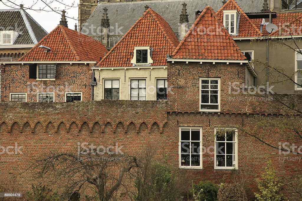 Zutphen – one of oldest towns in Netherlands royalty-free stock photo