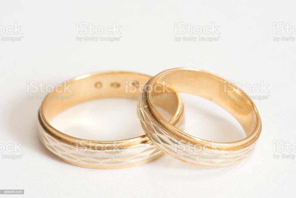 Zwei Ehe Ringe – Foto