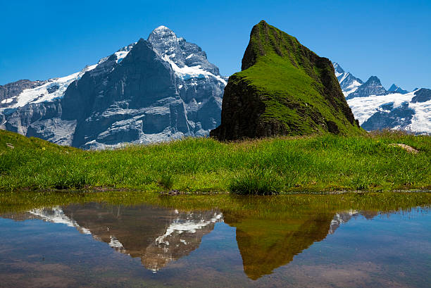 Zwei Grindelwald-First, Berner Oberland, Schweiz z_wei stock pictures, royalty-free photos & images