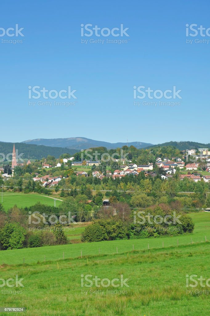 Zwiesel,bavarian Forest,Germany stock photo