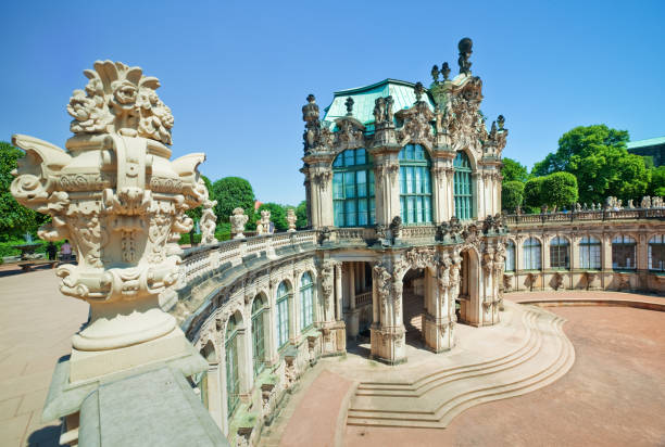 "Zwinger Museum in Dresden ""Zwinger Museum in Dresden, Germany"" zwanger stock pictures, royalty-free photos & images"