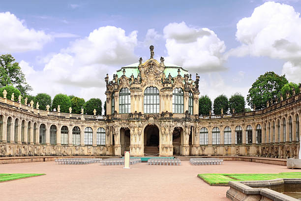 Zwinger Palace (Der Dresdner Zwinger) in Dresden Zwinger Palace (Der Dresdner Zwinger) in Dresden, Germany zwanger stock pictures, royalty-free photos & images