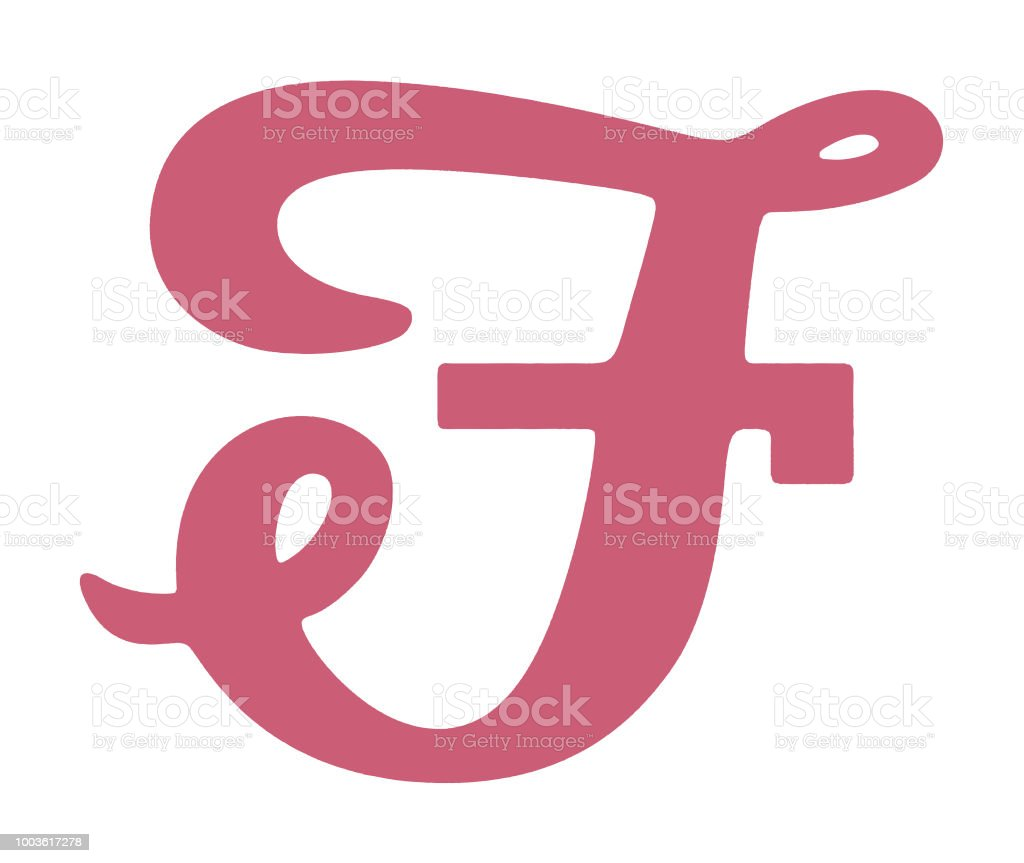 F Stock Vector Art & More Images of Alphabet 1003617278 | iStock