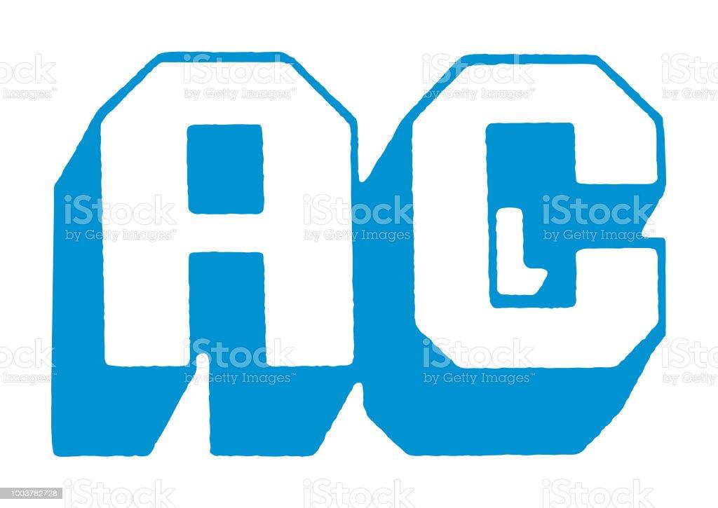 AC vector art illustration