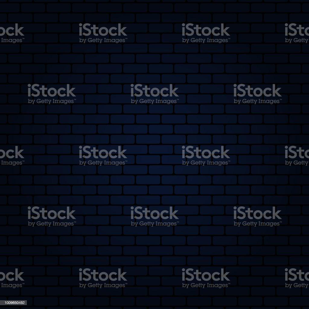 BLUE BRICK WALL - ilustração de arte vetorial