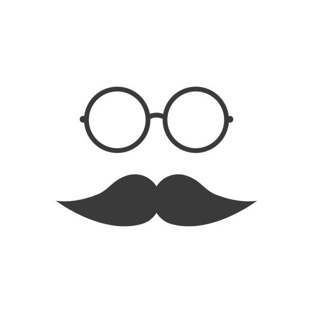 ðŸðµñ‡ð°ñ'ñŒ - old man glasses stock illustrations, clip art, cartoons, & icons