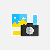PHOTOGRAPHY FLAT ICON