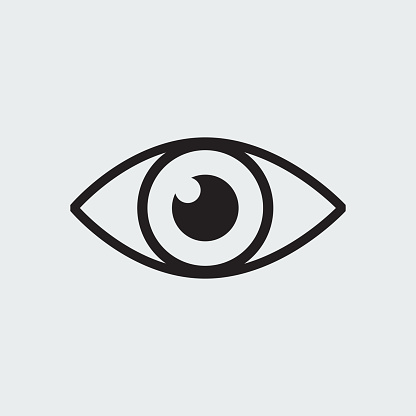 Vision Icon Stock Illustration - Download Image Now