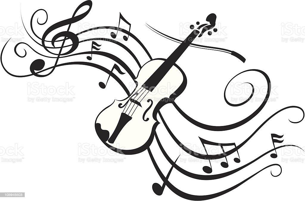 MUSICA CLASICA royalty-free stock vector art