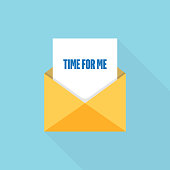 TIME FOR ME LETTER MESSAGE