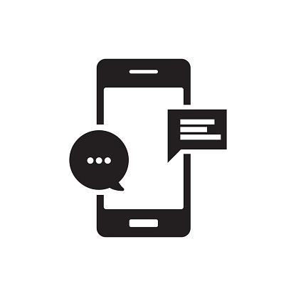 MOBILE CHAT ICON