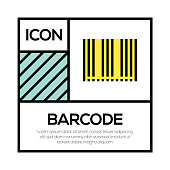 BARCODE ICON CONCEPT