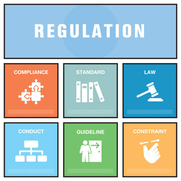 regulation concept - fotografieanleitungen stock-grafiken, -clipart, -cartoons und -symbole