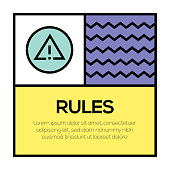 RULES ICON CONCEPT